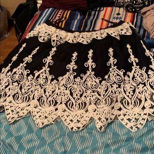 Design lab size M skirt